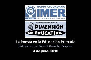 Dimensión educativa 26 - 4 de julio 2016