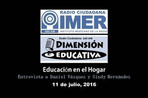 Dimensión educativa 27 - 11 de julio 2016