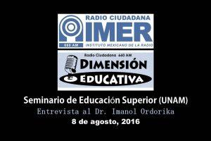 Dimensión educativa 31 - 8 de agosto 2016