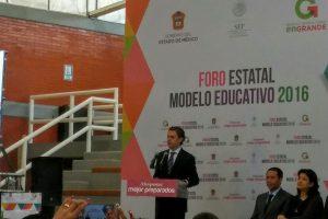 Foro Estatal del Modelo Educativo 2016