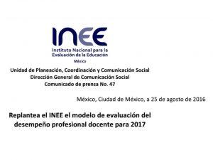Replantea-INEE