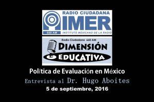 Dimensión educativa 35 - 5 de septiembre 2016