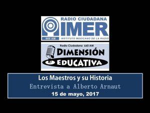 Dimensión educativa 66 - 15 mayo 2017