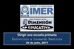 Dimensión educativa 73 - 24 julio 2017