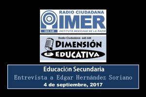 Dimensión educativa 77 - 4 sept 2017