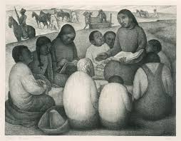 La maestra rural - Diego Rivera
