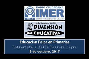 Dimensión educativa 80 - Ed. Física en primarias