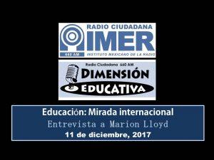 Dimensión educativa 89 - 11 diciembre 2017
