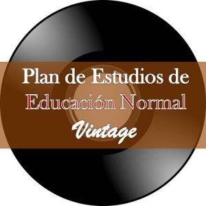 Plan vintage