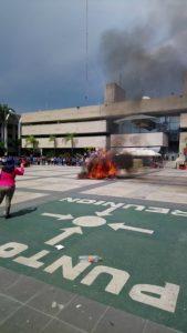 Protesta normalistas Chiapas