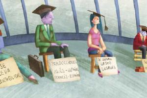 Universitarios y desempleo