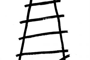 escalera rota