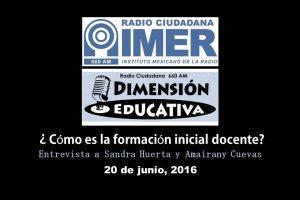 Dimensión educativa 24 - 20 de junio 2016