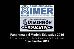 Dimensión educativa 30 - 1 de agosto 2016