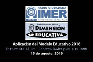 Dimensión educativa 32 - 15 de agosto 2016